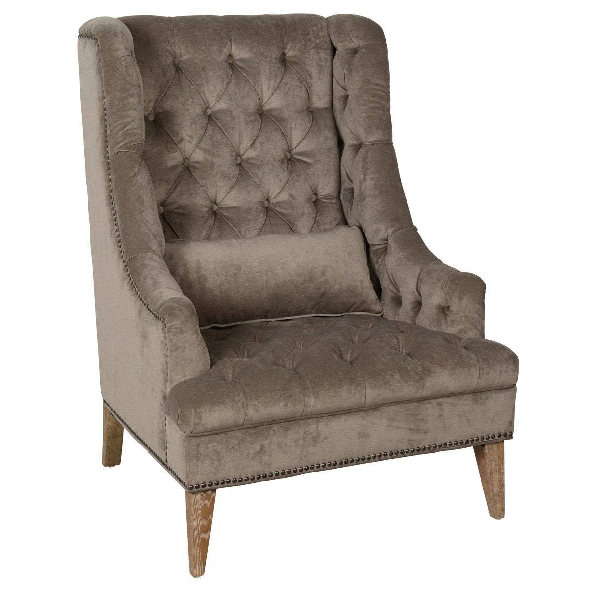 Capela Club Chair Platinum