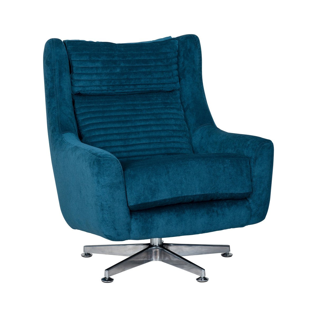 Aaron Swivel Chair Ocean