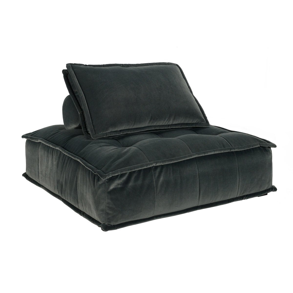 Element Square Lounge Chair Smoke