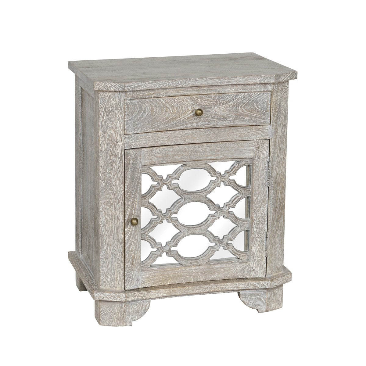 Davenport w/ Stone1Dr Nightstand