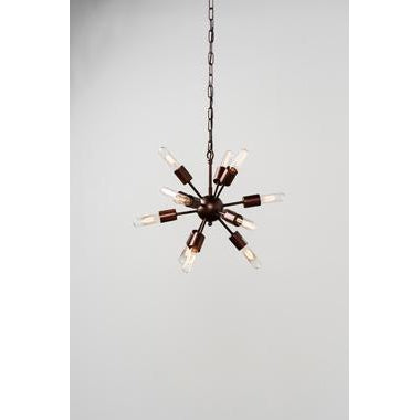 Alanya Chandelier Small w- bulb