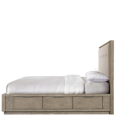 Zoey 4/6-5/0 Upholstered/Pnl Headboard