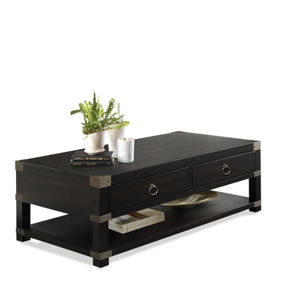 Myra Caster Cocktail Table