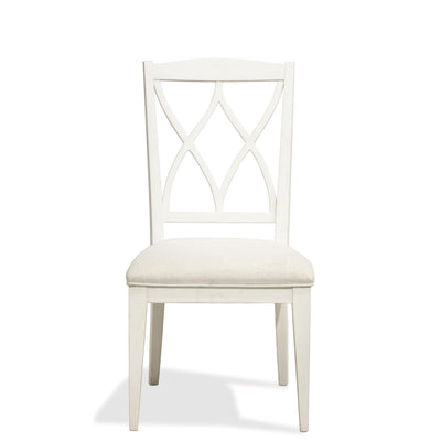 Myra X-Back Upholstered Side Chair 2""
