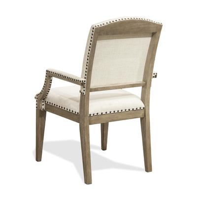 Myra Upholstered Arm Dining Chair 2""
