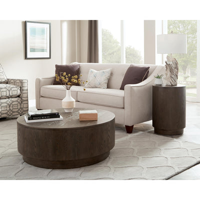 Joelle Round End Table