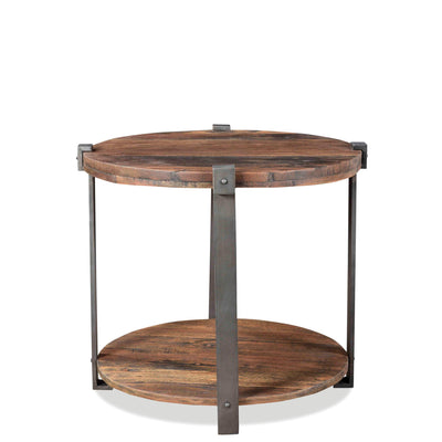 Quinton Round End Table
