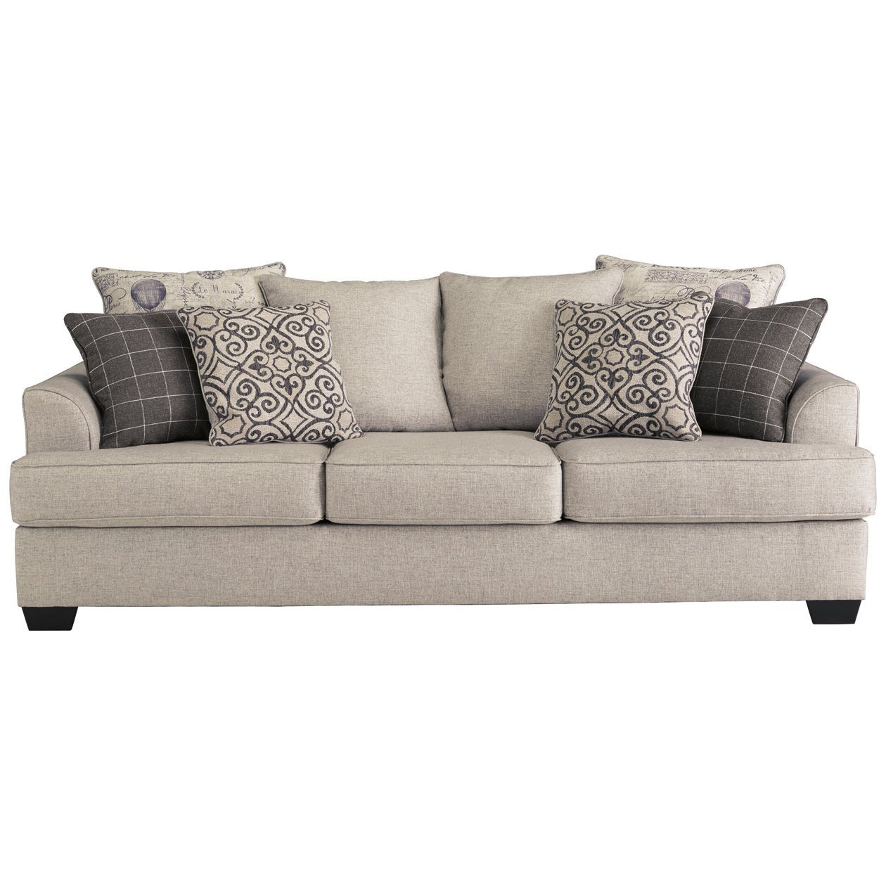 Velle Pewter Sofa