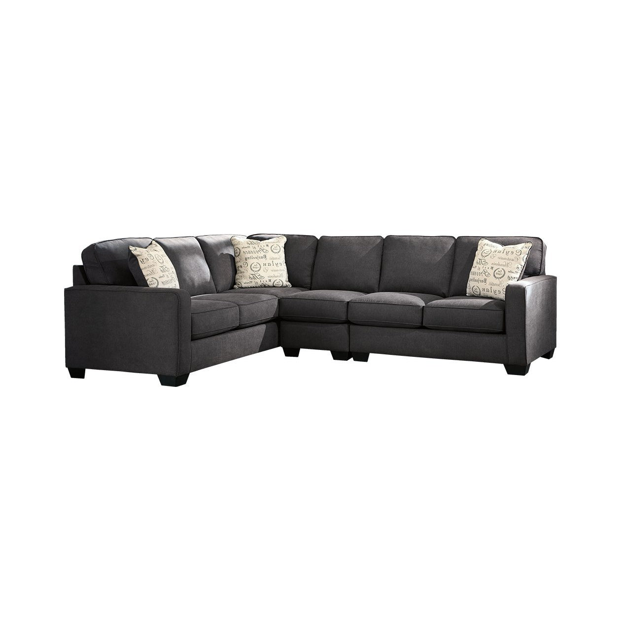 Alenya Charcoal 3-Piece Sectional