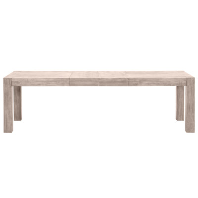 Adler Extension Dining Table in Natural Gray