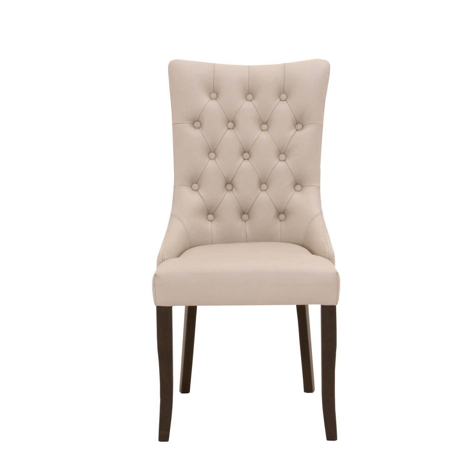 Amelia Dining Chair (Set of 2) in Baltic Mist Top Grain Leather