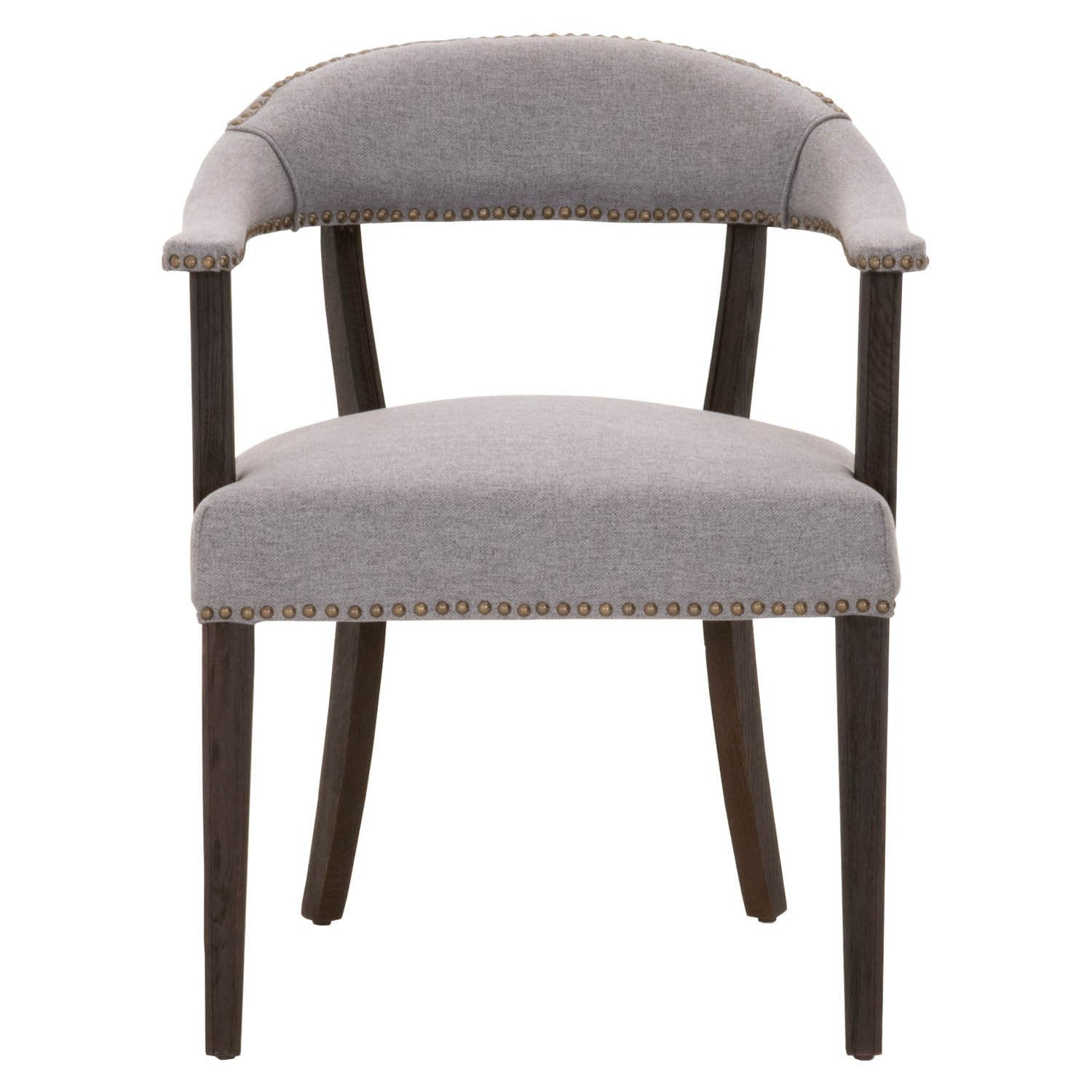 Ansel Accent Chair in Earl Gray Fabric