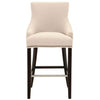Avenue Barstool in Jute Fabric