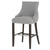 Avenue Barstool in Smoke Fabric