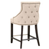 Avenue Counter Stool in Jute Fabric