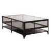 Baldwin Coffee Table in Black Iron