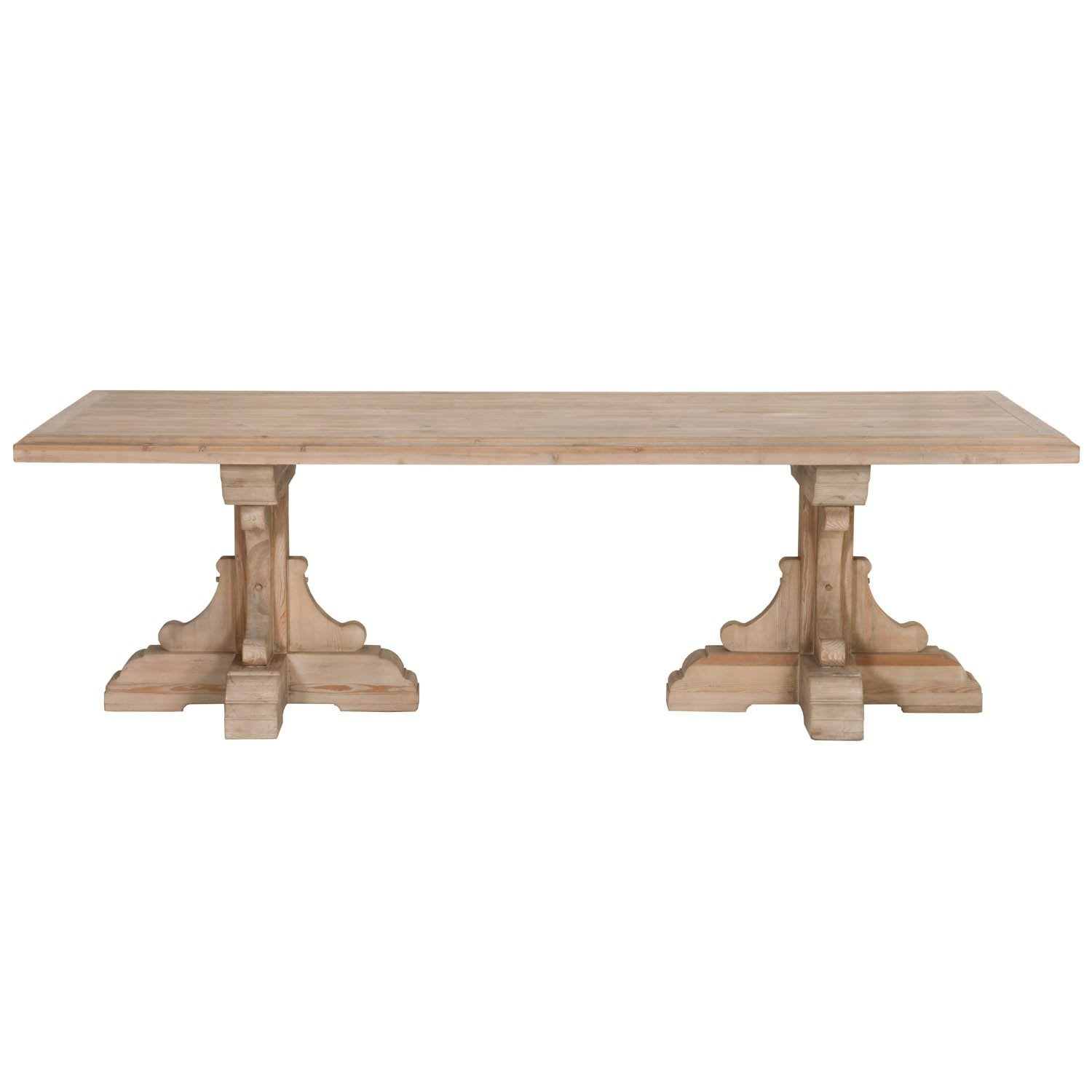 Bastille Rectangle Dining Table in Smoke Gray Pine