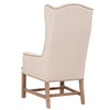 Bennett Arm Chair in Oatmeal Linen