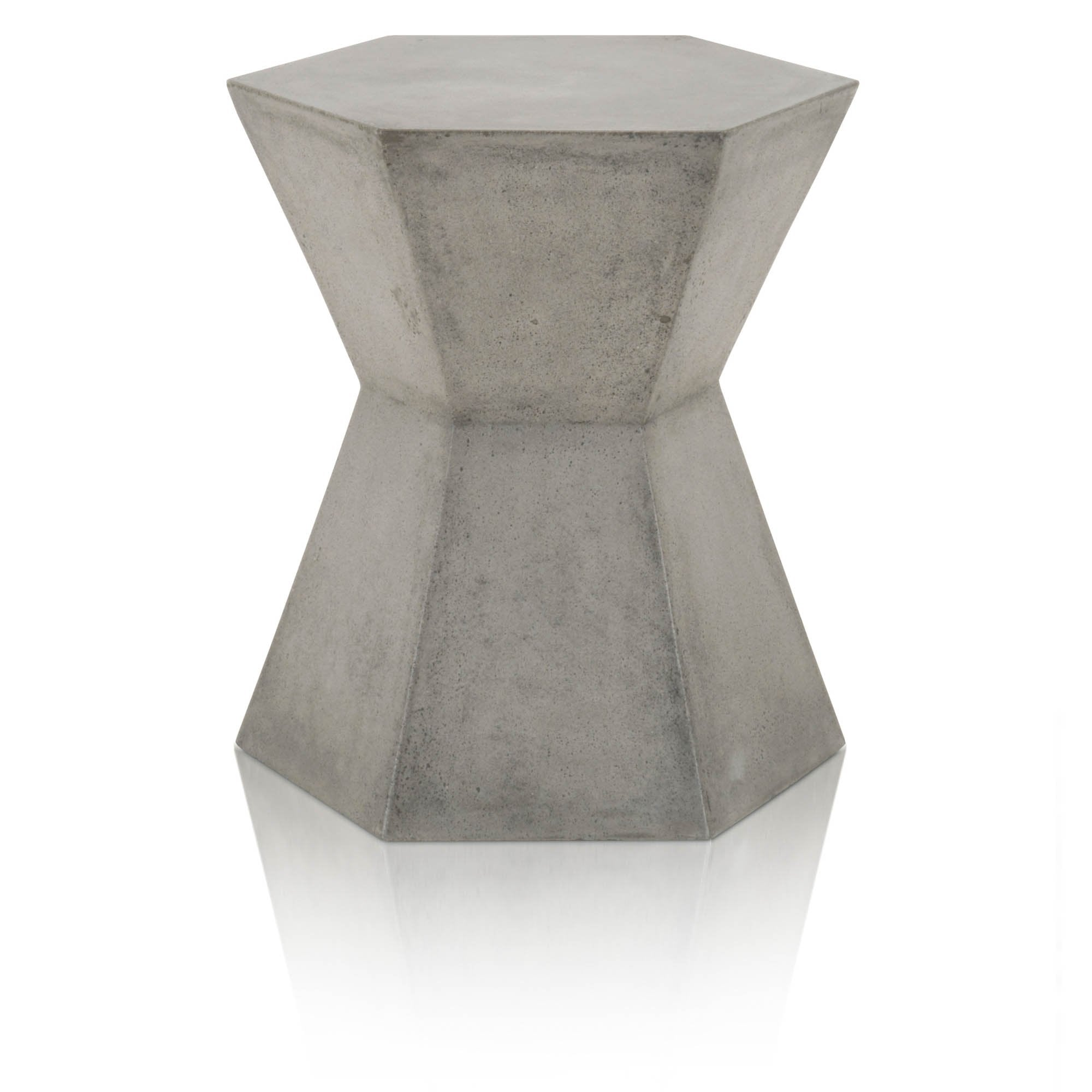 Bento Accent Table in Slate Grey Concrete