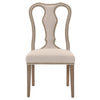 Bloom Dining Chair (Set of 2) in Jute Fabric