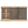 Bowery Media Sideboard in Smoke Gray Pine