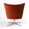 Jacob Swivel Chair - Soft Velvet Sienna