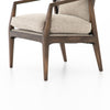 Alexandria Accent Chair - Honey Wheat