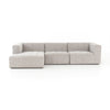 Langham Channeled 3 - Pc Sectional - Laf Ch