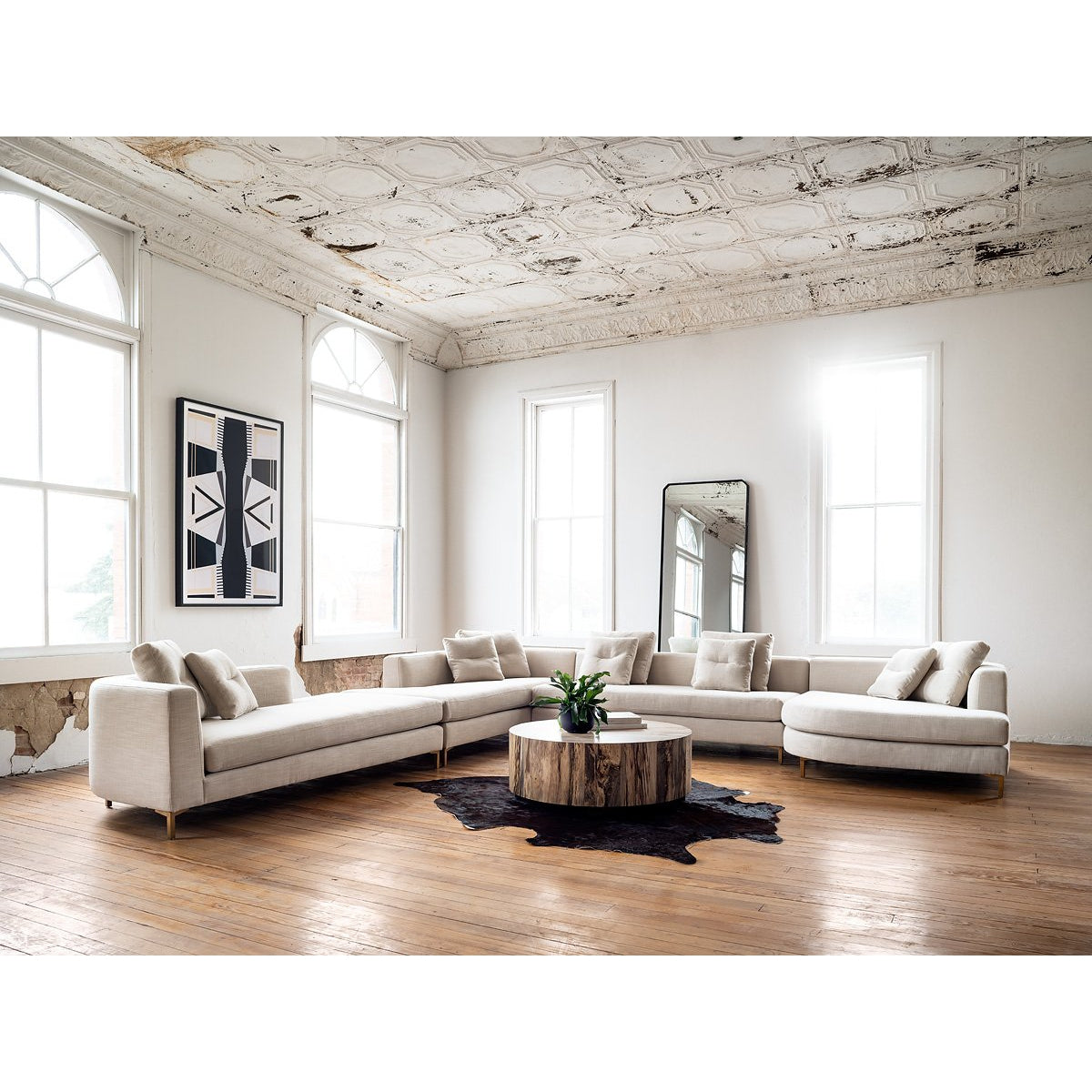 Greer 4 Pc Sectional - Laf Chaise
