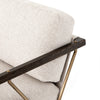 Mischa Chair  -  Elder Sand/Sienna Brown