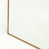 Bellvue Floor Mirror - Polished Brass