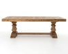 "Castle 98"" Dining Table - Bleached Pine"