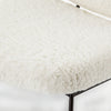 Caleb Chair - Ivory Angora