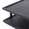 Charley Coffee Table - Drifted Black