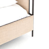Leigh Upholstered King Bed - Palm Ecru