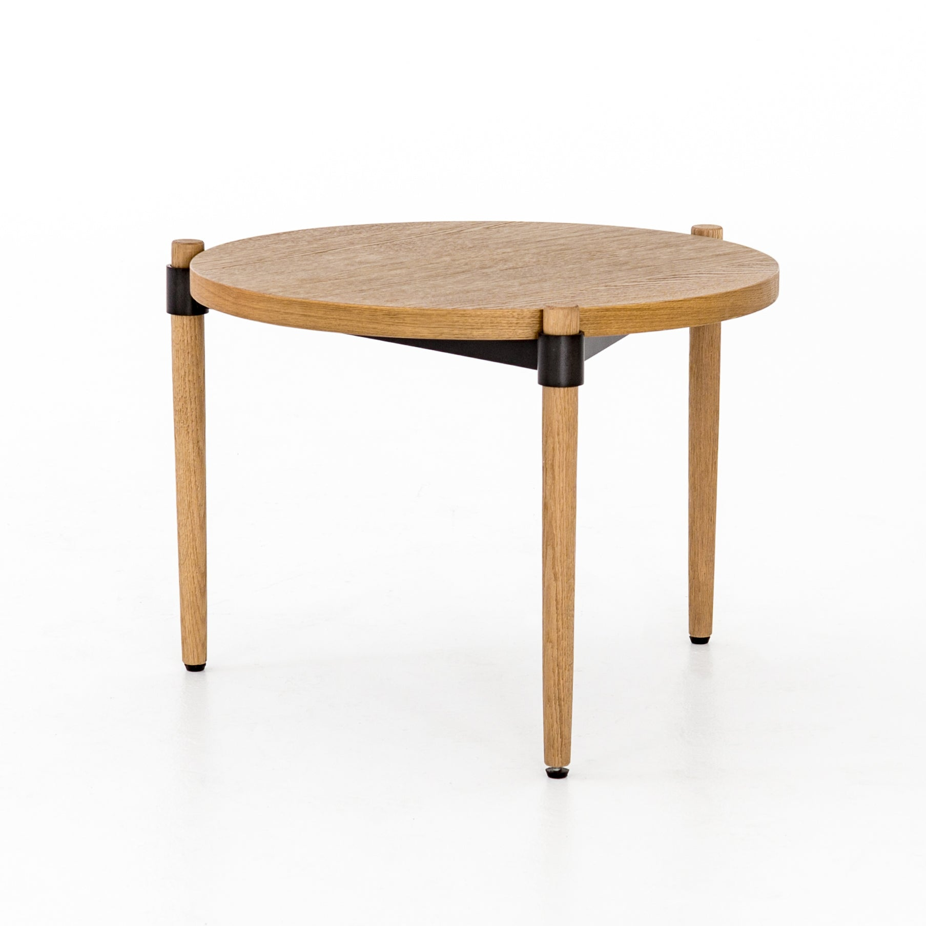 Holmes Cocktail Table - Smoked Drift Oak