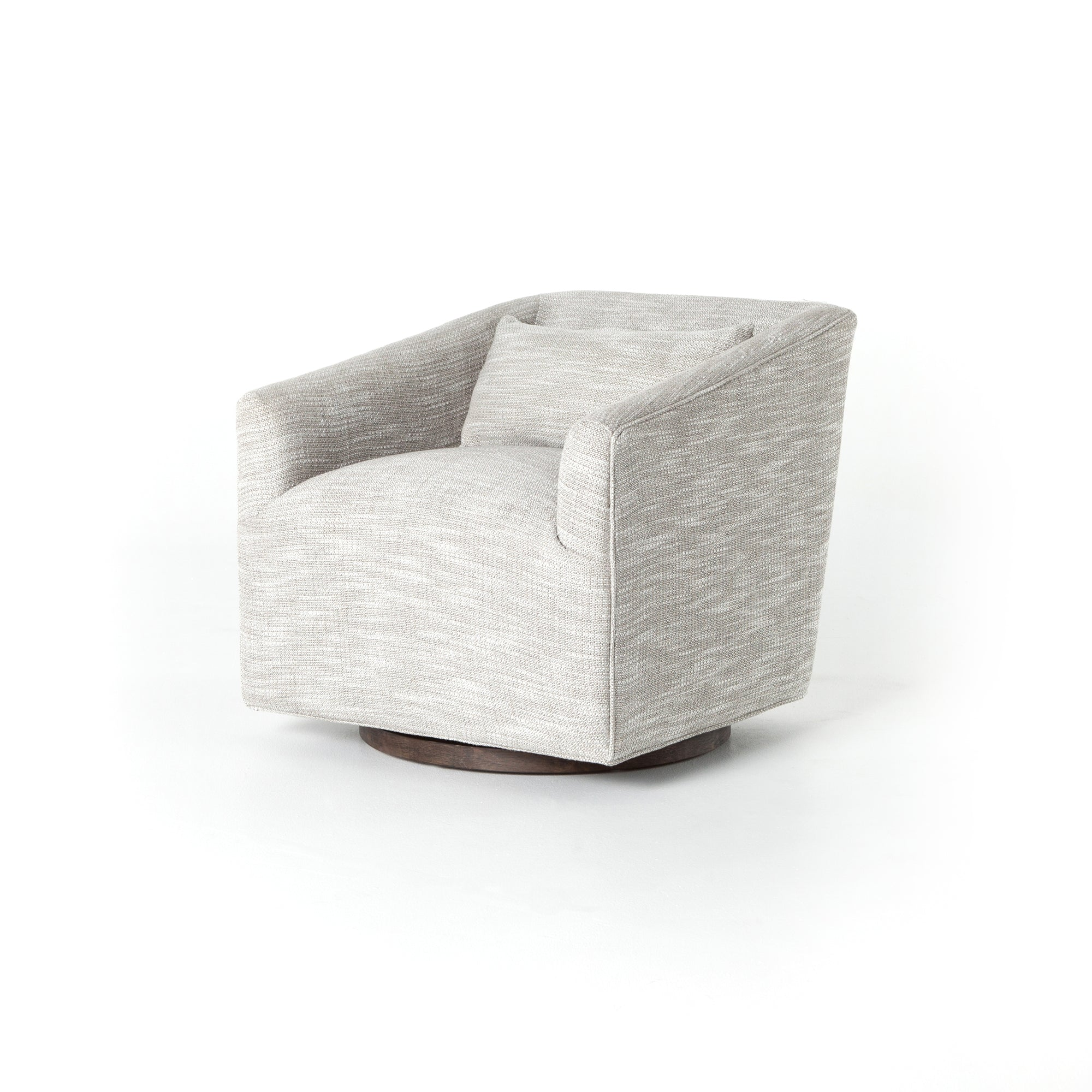 York Swivel Chair - Monterrey Pebble