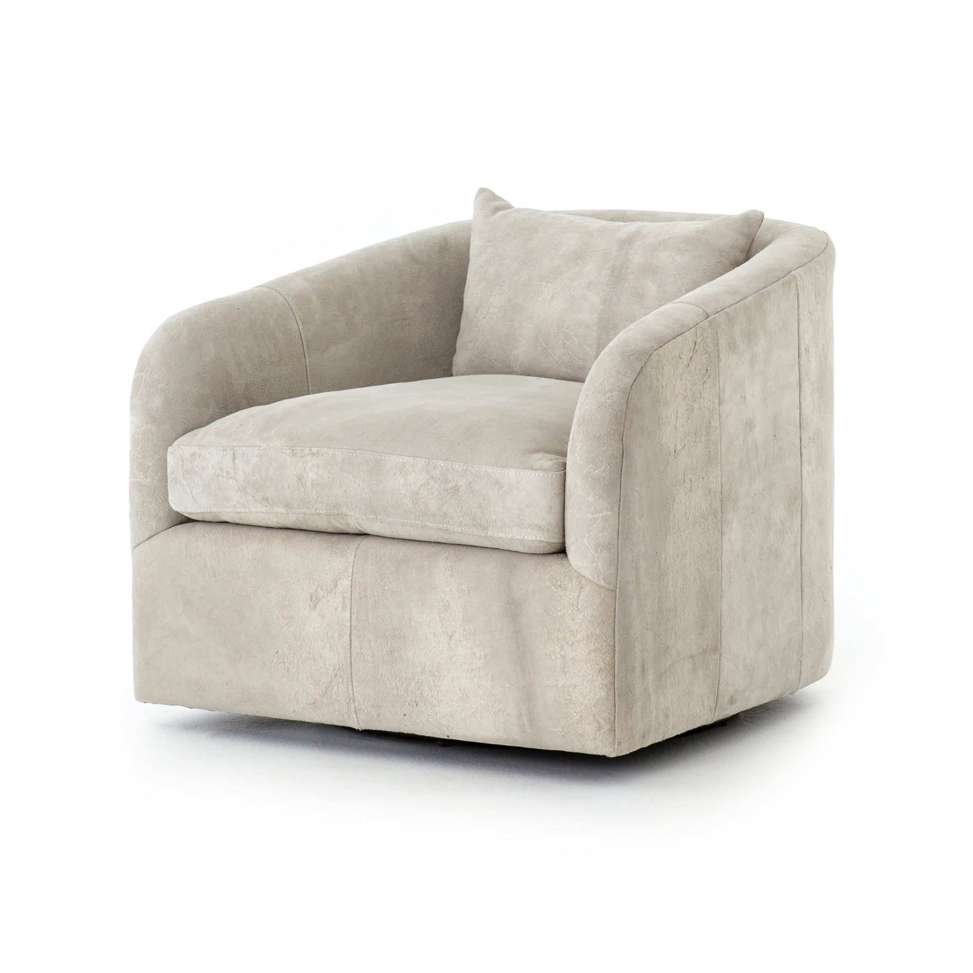Topanga Swivel Chair - Whistler Oyster