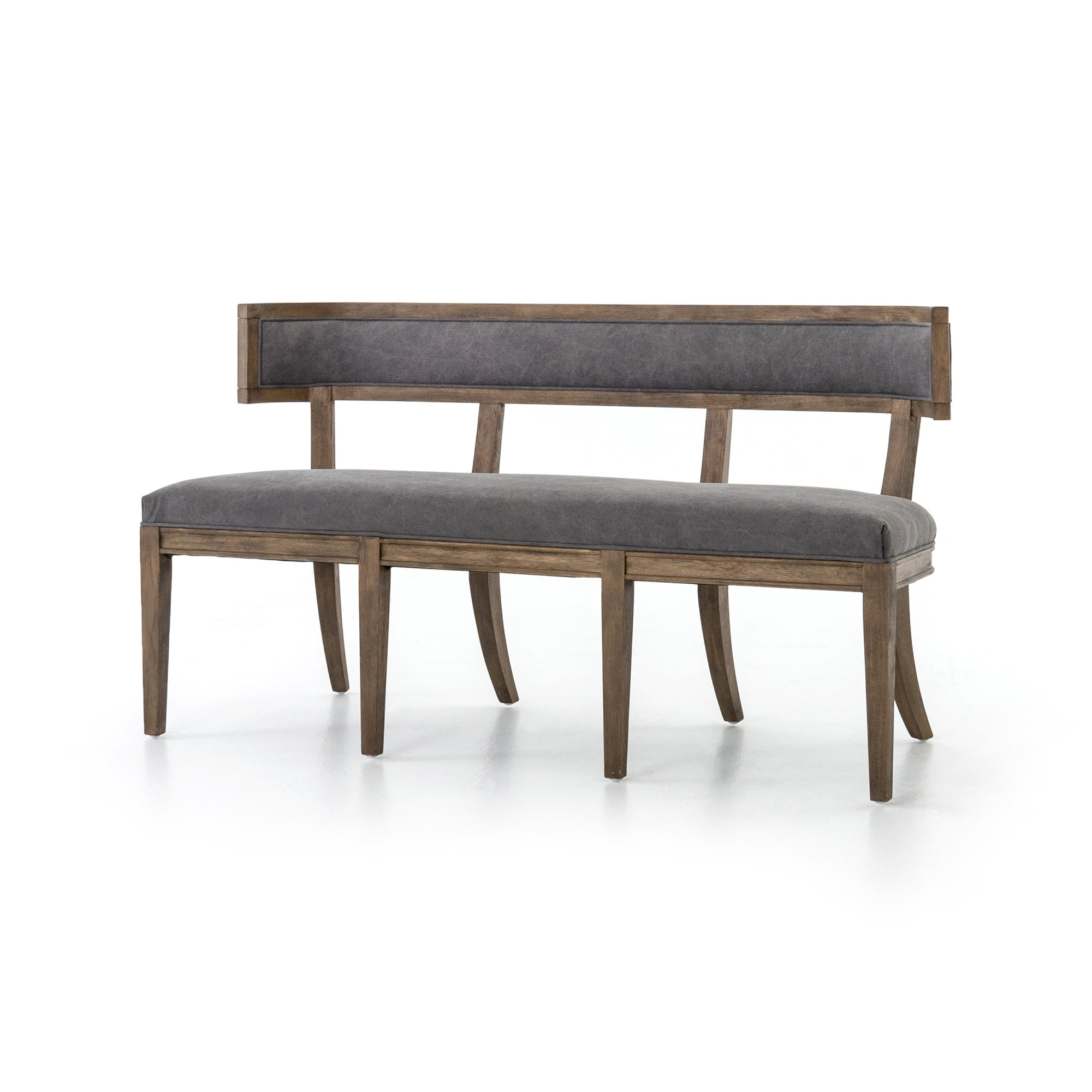 Carter Dining Bench - Dark Moon Canvas