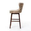Julie Swivel Bar Stool - Hyde Clay
