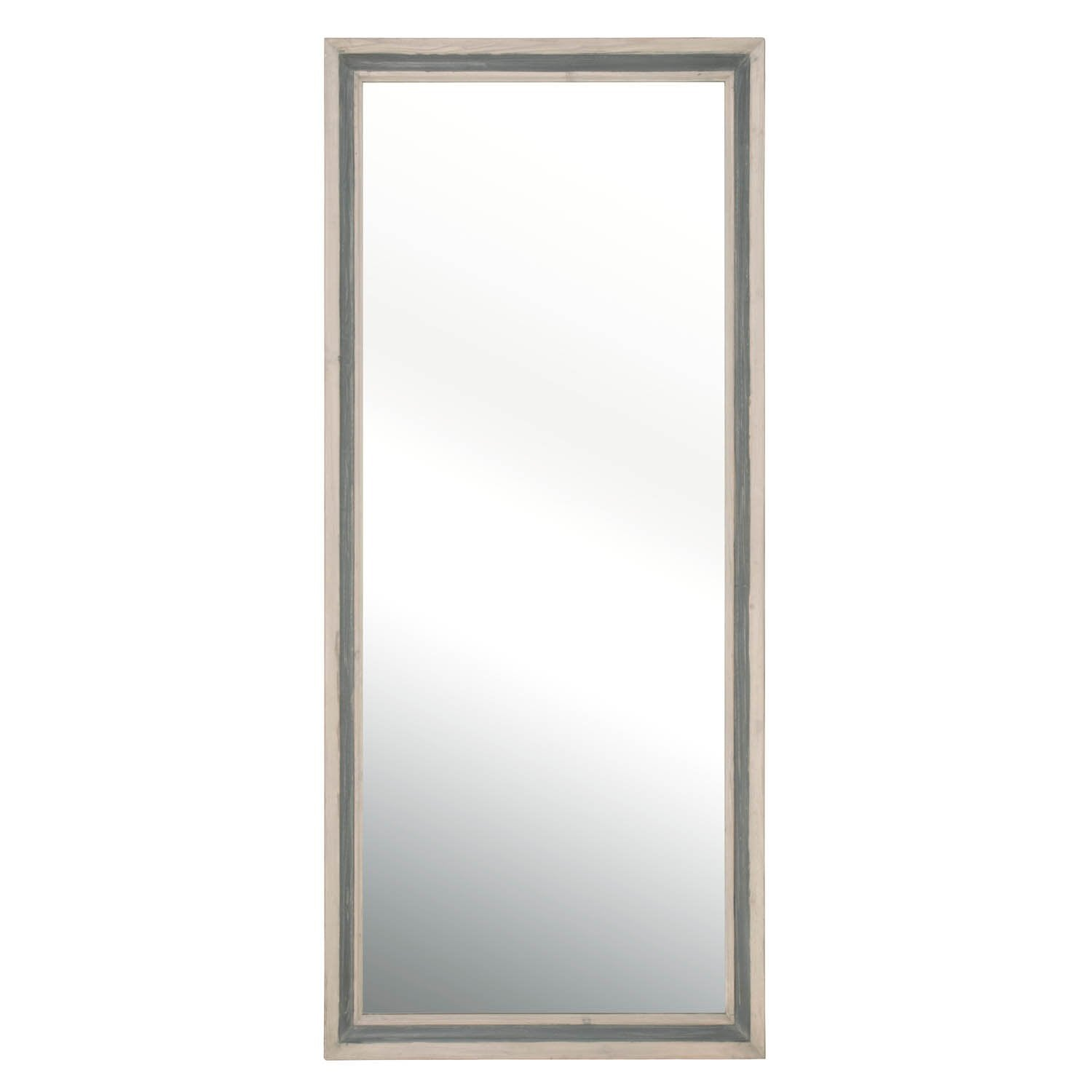 Caden Mirror in Cream Elm