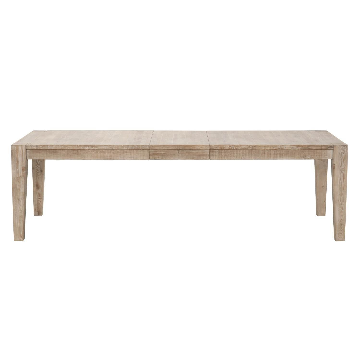 Canal Extension Dining Table in Smoke Gray Pine