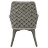 Caymus Outdoor Arm Chair (Set of 4)