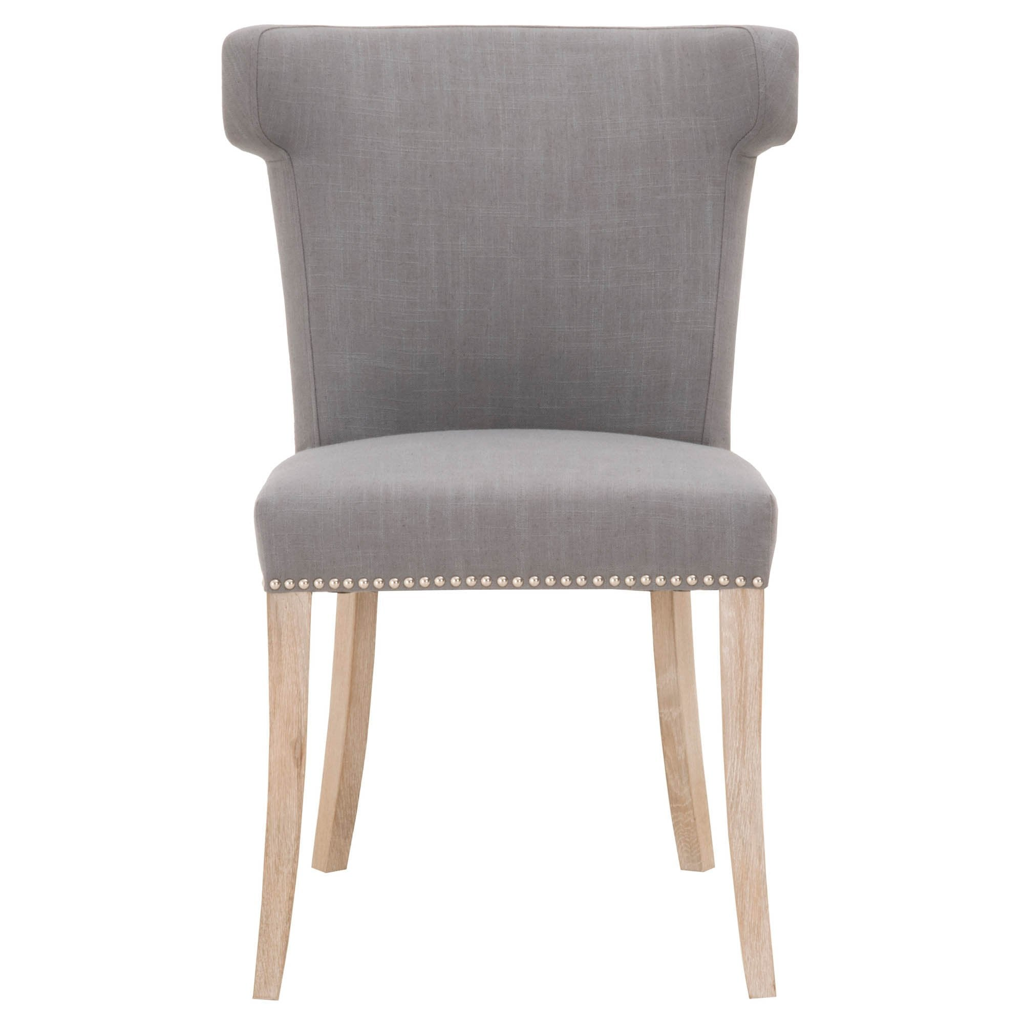 Celina Dining Chair in Natural Gray