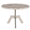 Charlie Round Coffee Table in Weathered Elm