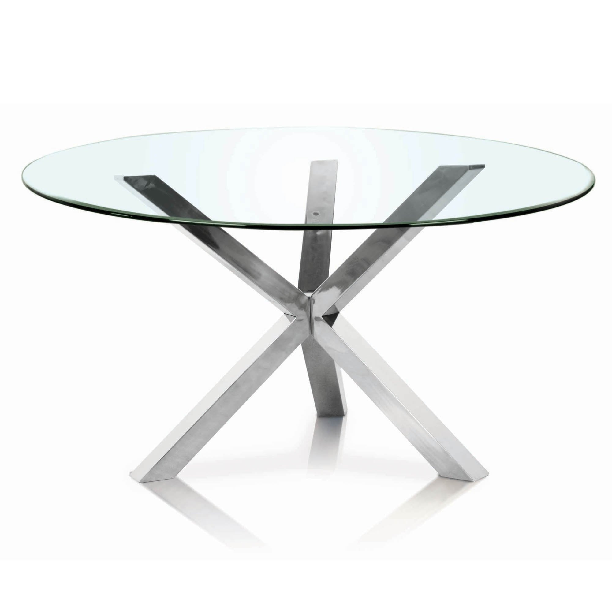 Fabulous Clear 60 Round Dining Table Top Peter Andrews Gmtry Best Dining Table And Chair Ideas Images Gmtryco