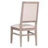 Dexter Dining Chair (Set of 2) in Natural Fabric,  Stone Wash