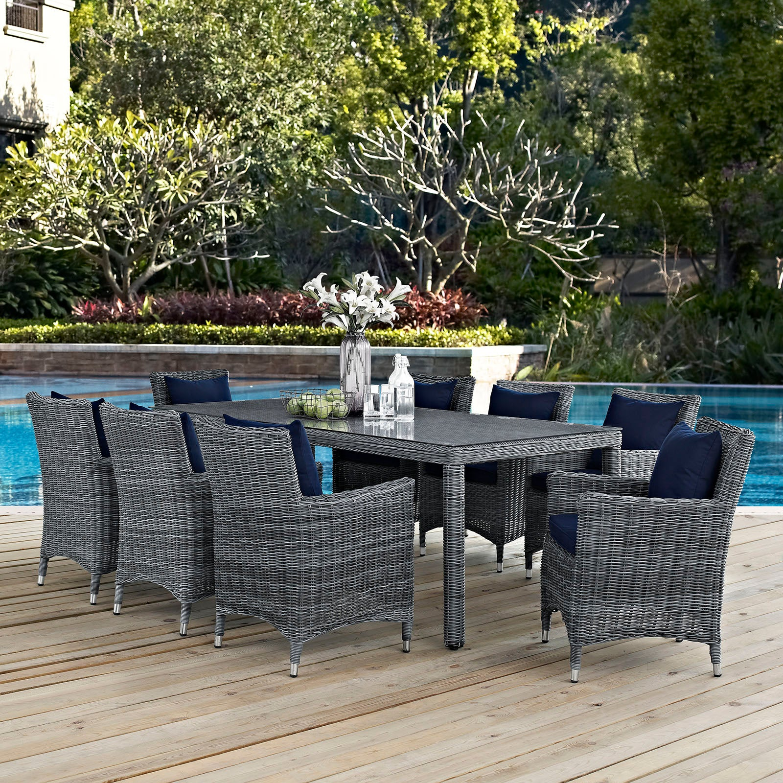 St Barts 7-Piece Outdoor Dining Set