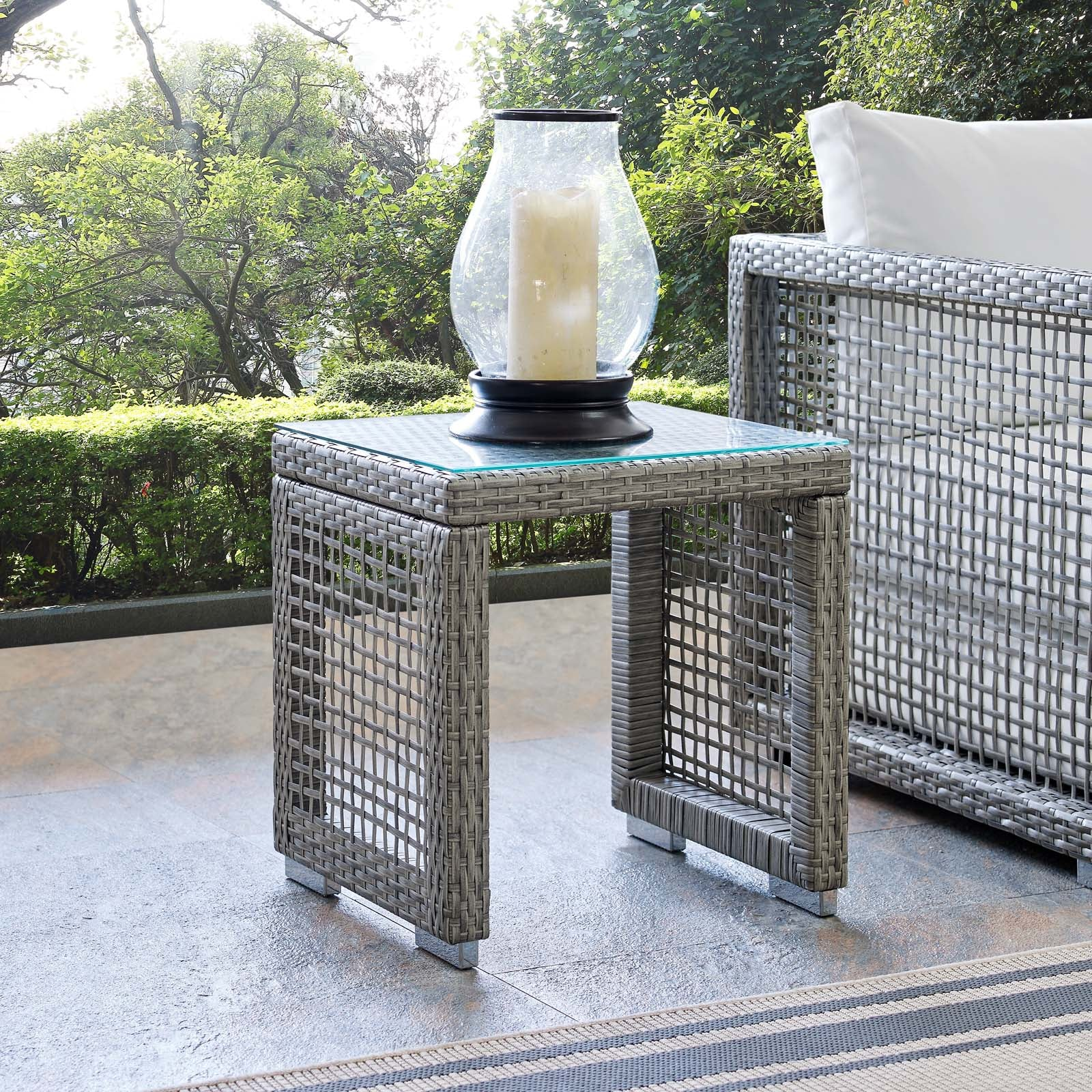 Anguilla Outdoor Side Table
