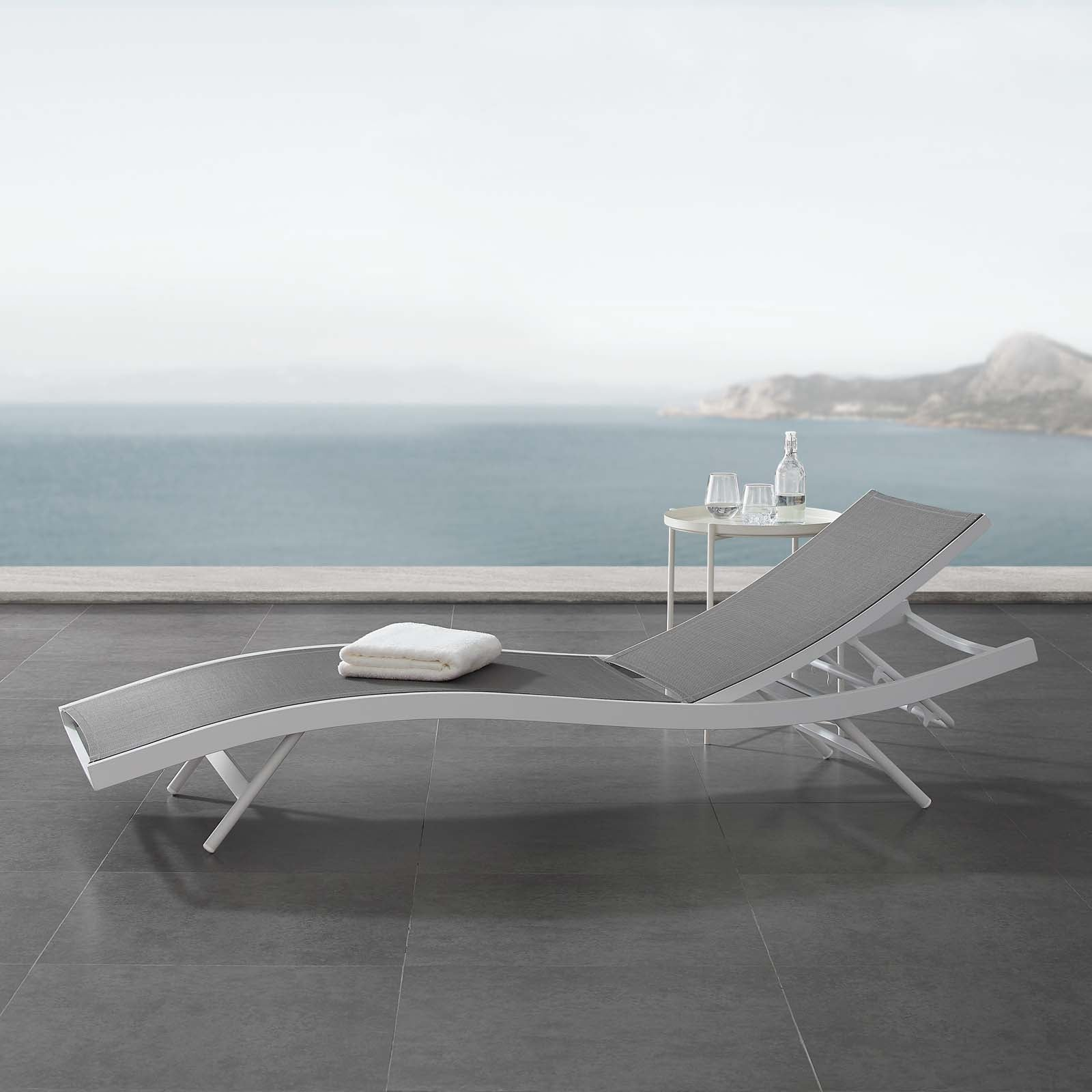 Chill Outdoor Pool Chaise
